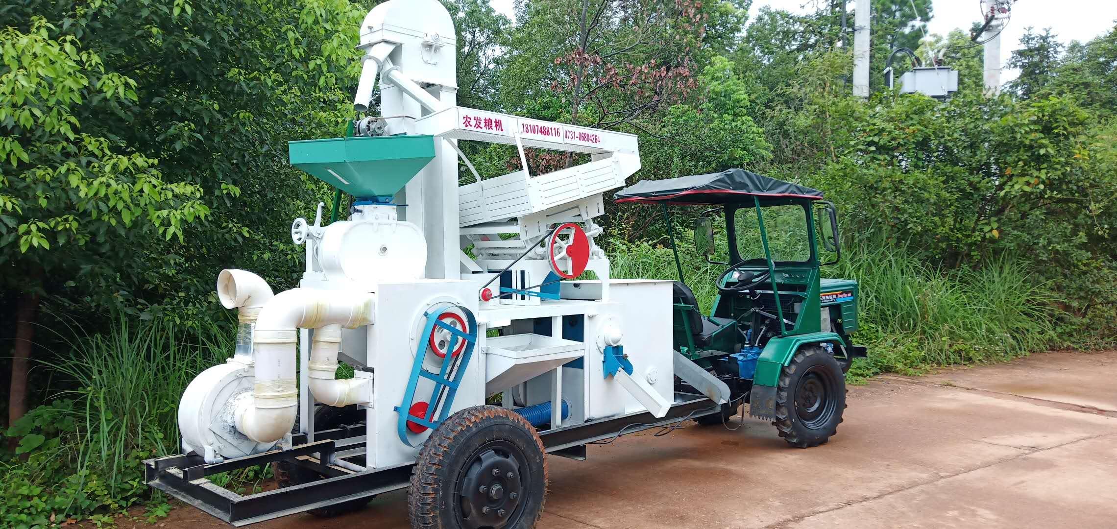 流动碾米机安装-案例19