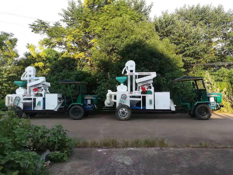 流动碾米机安装-案例17